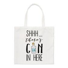 - Non giurare non c'è Gin qui Small Tote Bag-GIN TONIC Divertente spalla