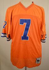 Mitchell & Ness Denver Broncos NFL #7 John Elway NFL Throwback Jersey 52 Orange