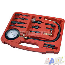 Diesel Engine Cylinder Pressure Tester Car Compression Gauge Test Tool Kits Kit