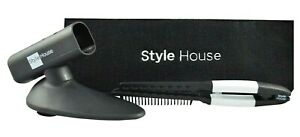 Style House Professional Flat Iron Accessory Set (Holder, Comb & Case) Brand New