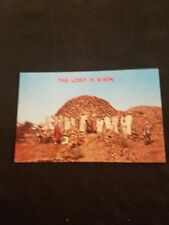 The Lord is Risen at the Holy City Easter Sunrise Service - Old Postcard 34139