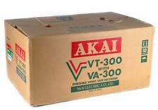 AKAI VT-300S VA-300 VC-300 Portable VTR VK30 Video Recorder VF300S 16MM 1.6 Lens