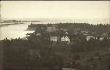 Christmas Cove ME General View c1910 Real Photo Postcard #5