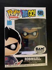 Funko Pop Teen Titans Go! - Robin Red X #585 - Bam Exclusive - Box damage