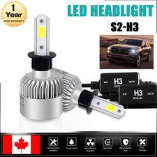 2x H3 LED Headlight Conversion Kit 16000LM Fog Light Bulb 6000K White Lamp CA