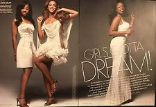 Beyonce Knowles, Jennifer Hudson 11pg + cover VANITY FAIR feature, clippings