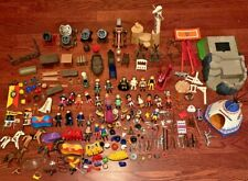 Huge Lot of PLAYMOBIL Figures Horses Weapons Tables Accessories Western Cowboy