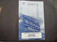Sheffield Wednesday V Chelsea  1964/5