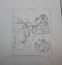 1984 Takara Transformers TV Magazine Internal Art Copy Optimus & Wheeljack