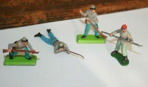 Lot Britains - 4 Soldats Sudistes - Figurines anciennes