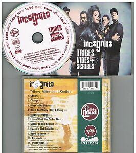 Incognito – Tribes Vibes + Scribes CD 1992