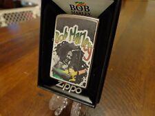 BOB MARLEY PLAYING GUITAR ZIPPO LIGHTER MINT IN BOX 2016