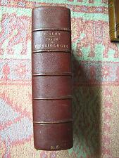 Gley ( E. ) Traité élémentaire de physiologie. Baillière. 1913