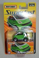 Matchbox Superfast Smart Fortwo Cabrio #68 in Green