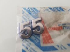 Genuine Fiat Punto 55 badge.