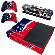 Houston Texans NFL Xbox one Kinect 2 Controller Skin Vinyl Sticker Decals Covers