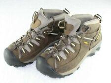 Keen Women's Targhee II Mid Waterproof Hiking Walnut Brown Boots Size 8