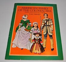 - American Family of the Colonial Era Tom Tierney Paper Dolls -