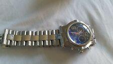 Ladies Renato Beauty Hybrid 316L Diamond Blue Dial Rare Diamond Touch Wristwatch