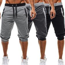 Herren Sporthose Bermuda Fitness Jogginghose GYM Sommer Training Hose Shorts DE