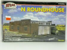 "ATLAS N SCALE U/A ""ROUNDHOUSE"" PLASTIC MODEL KIT"