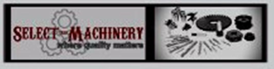 select machinery spares and tooling