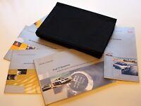 Genuine AUDI TT ROADSTER (2000–2006) HANDBOOK - USER MANUAL WALLET CONCERT SOUND