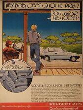 PUBLICITÉ 1995 PEUGEOT 205 QUEL SACRÉ NUMÉRO - ADVERTISING