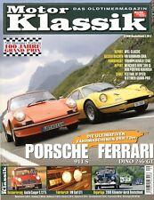 Motor Klassik 2006 9/06 Porsche 911 S Fiat Dino Alfa Duetto Golf GTI