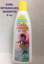 ORS CURLIES UNLEASHED FOR KIDS CURL DETANGLING SHAMPOO 8 FL OZ SULFATE FREE
