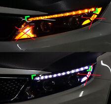LED Eyeline eyebrow 2way Power Modules LH RH 2p For 2014 2015 Kia Optima : K5