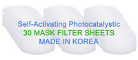 Face Mask Filter Replacement 30 Sheets (1pack) Made in Korea, Ship from US