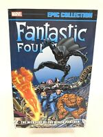 Fantastic Four Epic Collection Mystery of Black Panther Marvel Comics New TPB