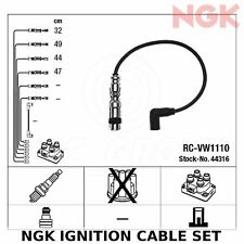 NGK Ignition Cable Set (HT Leads) - Stk No: 44316, Part No: RC-VW1110