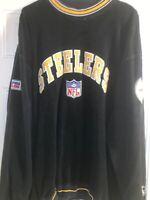 Pittsburgh Steelers NFL Fleece Sweatshirt Starter NFL Pro Line Adult Size XL