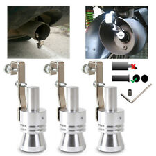 Car Auto Exhaust Pipe Straight Tailpipe Accessory Loud  Whistle Sound Maker