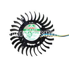1pc Magic MGT6012ZR-W15 12V 0.43A fan for 9600GT 9800GT