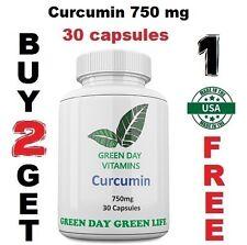Curcumin 750 mg 95% Curcuminoids Tumeric Root