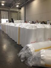"""Metal building insulation 3""""Th x 4'W x 100'L  HD Reinforced w/ Batt (Rolls)"""