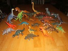 HUGE LOT 24 Dinosaurs Mixed Brands 3.5 inch to 12 Inch Mint Condition!!