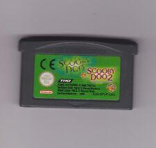 SCOOBY DOO + SCOOBY DOO 2 - Game Boy Advance Gba - Vers. Europea - CARTUCCIA FE