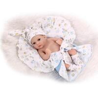 "Hot Sale 10"" Newborn Baby Doll Realistic Vinyl Silicone Reborn Boy Handmade Toys"