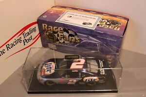 2001 Rusty Wallace Miller Lite Harley Color Chrome 1/24 Action Race Fans Diecast