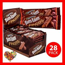 TIM TAMS FINGERS 40G X 28CT BOX TIM TAM CHOCOLATE BISCUITS BARS