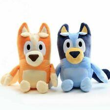 2PCS 28cm Bluey and Bingo Dog Friends Plush Toy Stuffed Plush Kids Birthday Gift