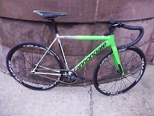2015 Cannondale CAAD 10 Track Bike 50cm Mavic Ellipse Sram Fizik MSRP $2130