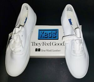 Vintage 90s New Keds Spell Out Plastic Single Shoe Stand Display Holder White