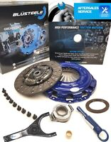 Blusteele HEAVY DUTY clutch kit for NISSAN navara D22 2.5l YD25DDT, NEW BOLTS!
