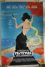 FESTIVAL IN CANNES 2002 Original US One Sheet 27x40 Movie Theater Poster Rolled
