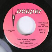 Soul 45 The Avantis - One Man'S Poison / You Got A Funny Way (Of Showing Your Lo